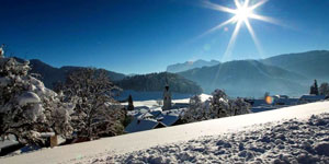 Bregenzerwald Winterlandschaft